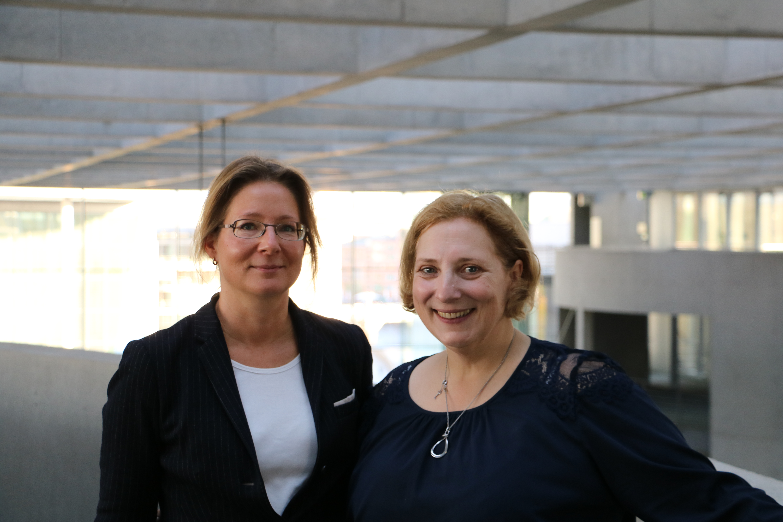 Dr. Muriel Asseburg und Dr. Daniela De Ridder