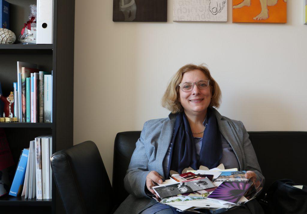 Dr. Daniela De Ridder bedankt sich für die vielen Glückwünsche