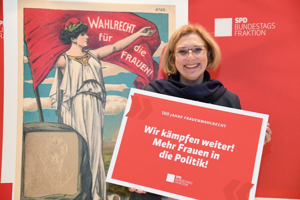 Dr. Daniela De Ridder zu 100 Jahre Frauenwahlrecht