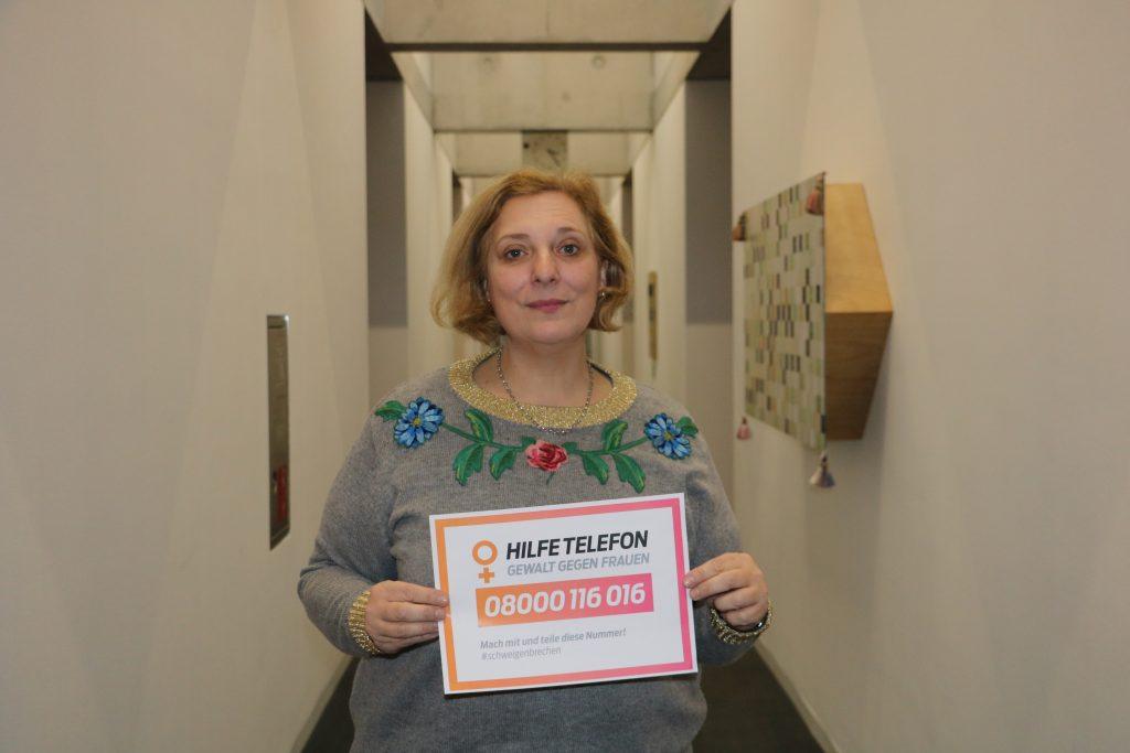Dr. Daniela De Ridder zum Internationalen Tag gegen Gewalt an Frauen