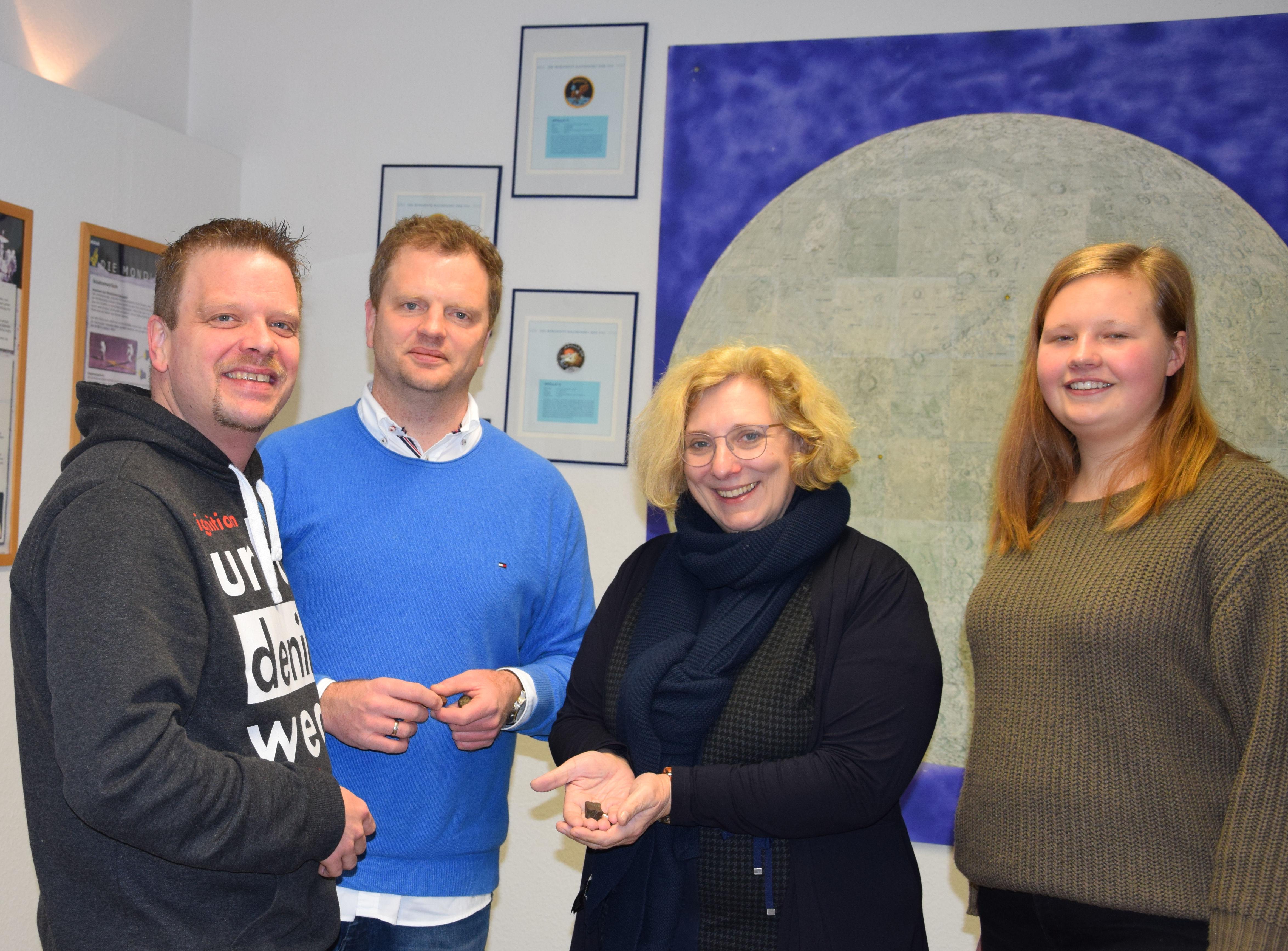 Thorsten Lohouis, Christoph Lohouis, Dr. Daniela De Ridder und Esther Brünemeyer