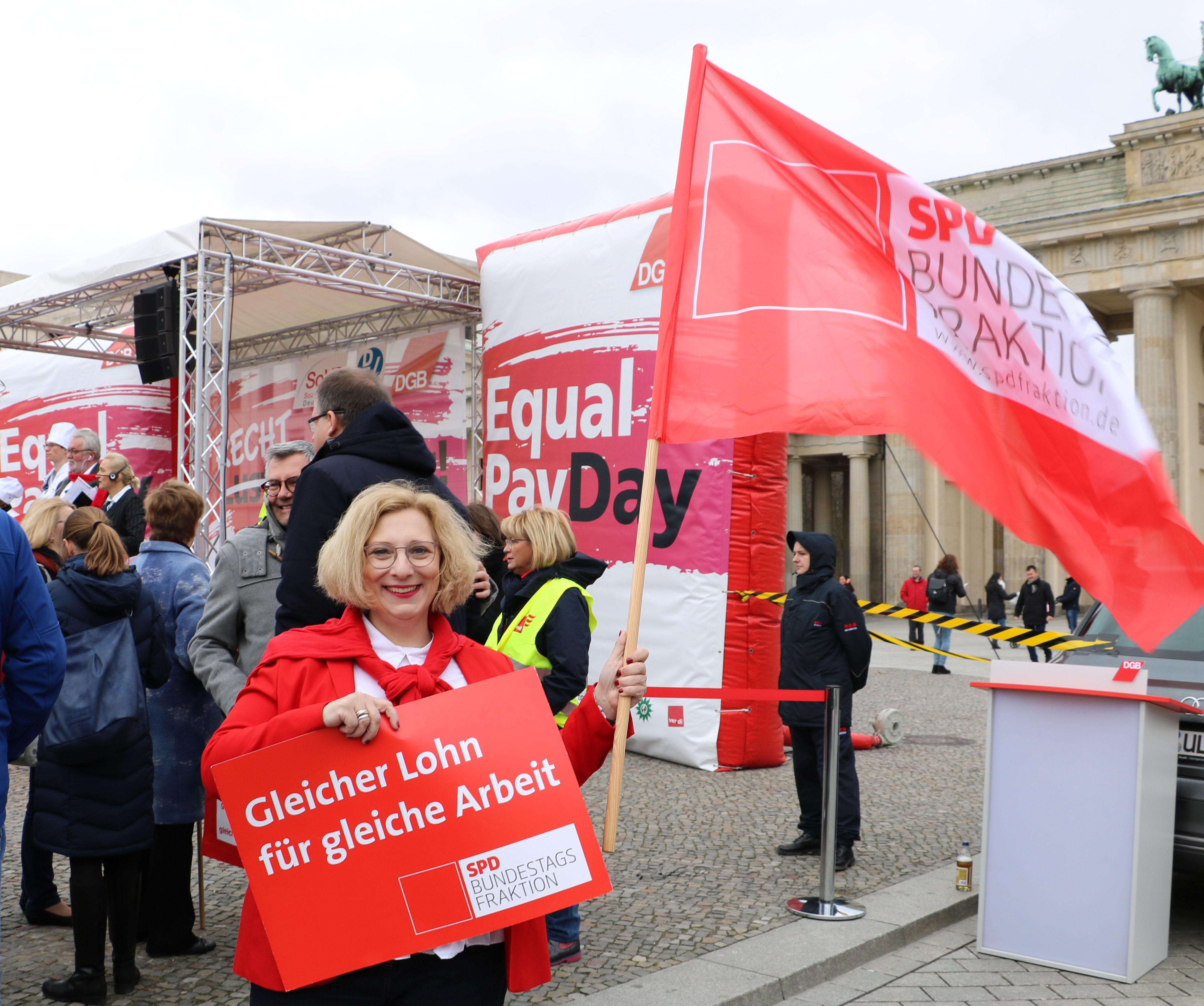 Dr. Daniela De Ridder zum Equal Pay Day 2019