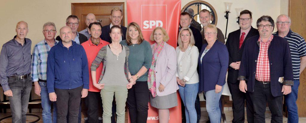 Dr. Daniela De Ridder mit der SPD Emsbüren und Salzbergen