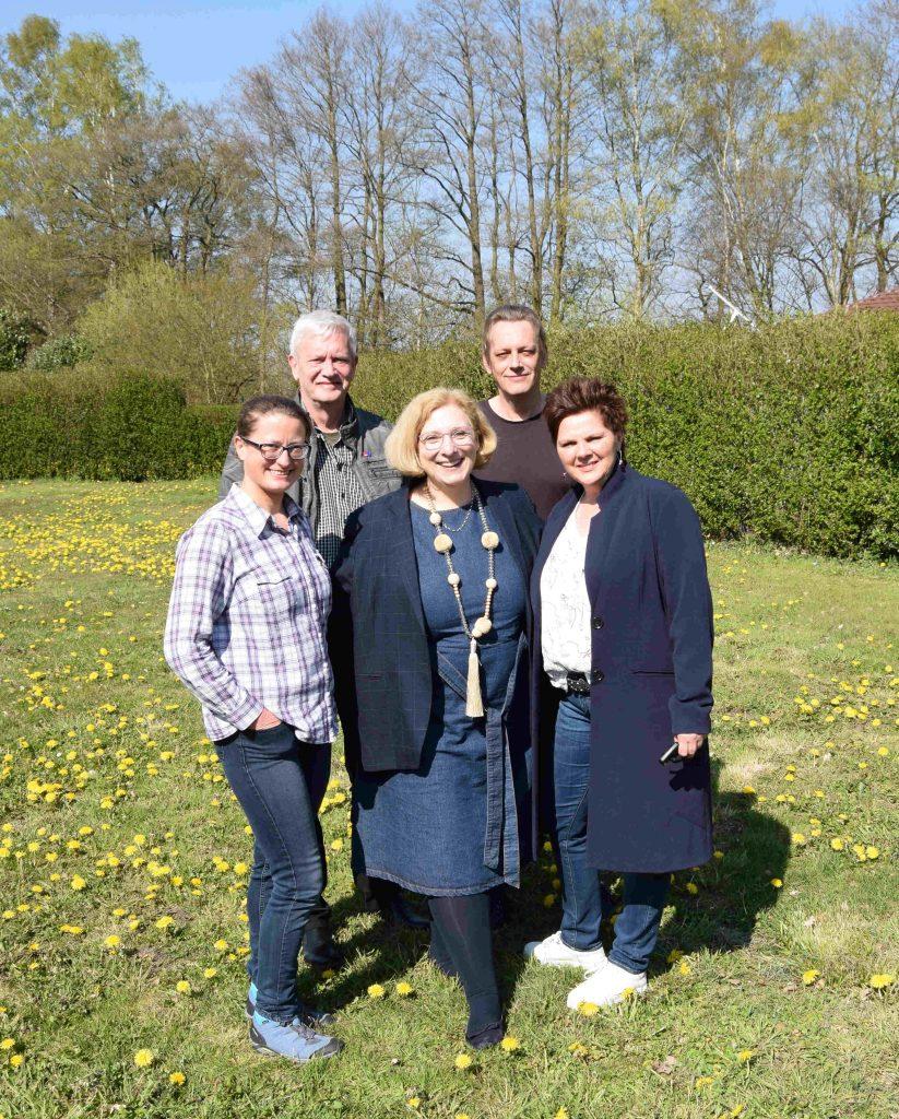 V.l.n.r.: Gabi Westenberg, Jürgen Barenkamp, Dr. Daniela De Ridder, Andreas Stehler, Sonja Rolfes