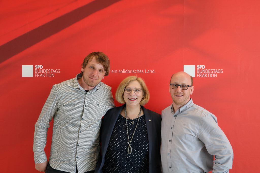 V.l.n.r.: Heiner Schnelte, Dr. Daniela De Ridder und Lothar Achenbach