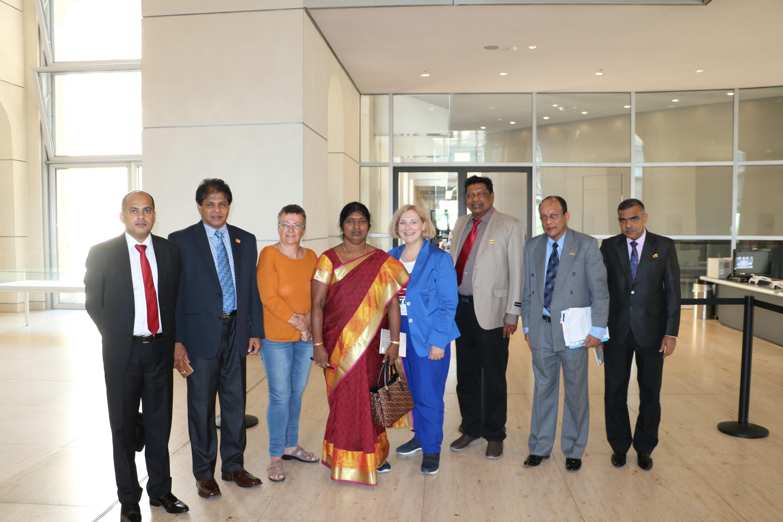 Dr. Daniela De Ridder empfängt Delegation aus Sri Lanka im Deutschen Bundestag