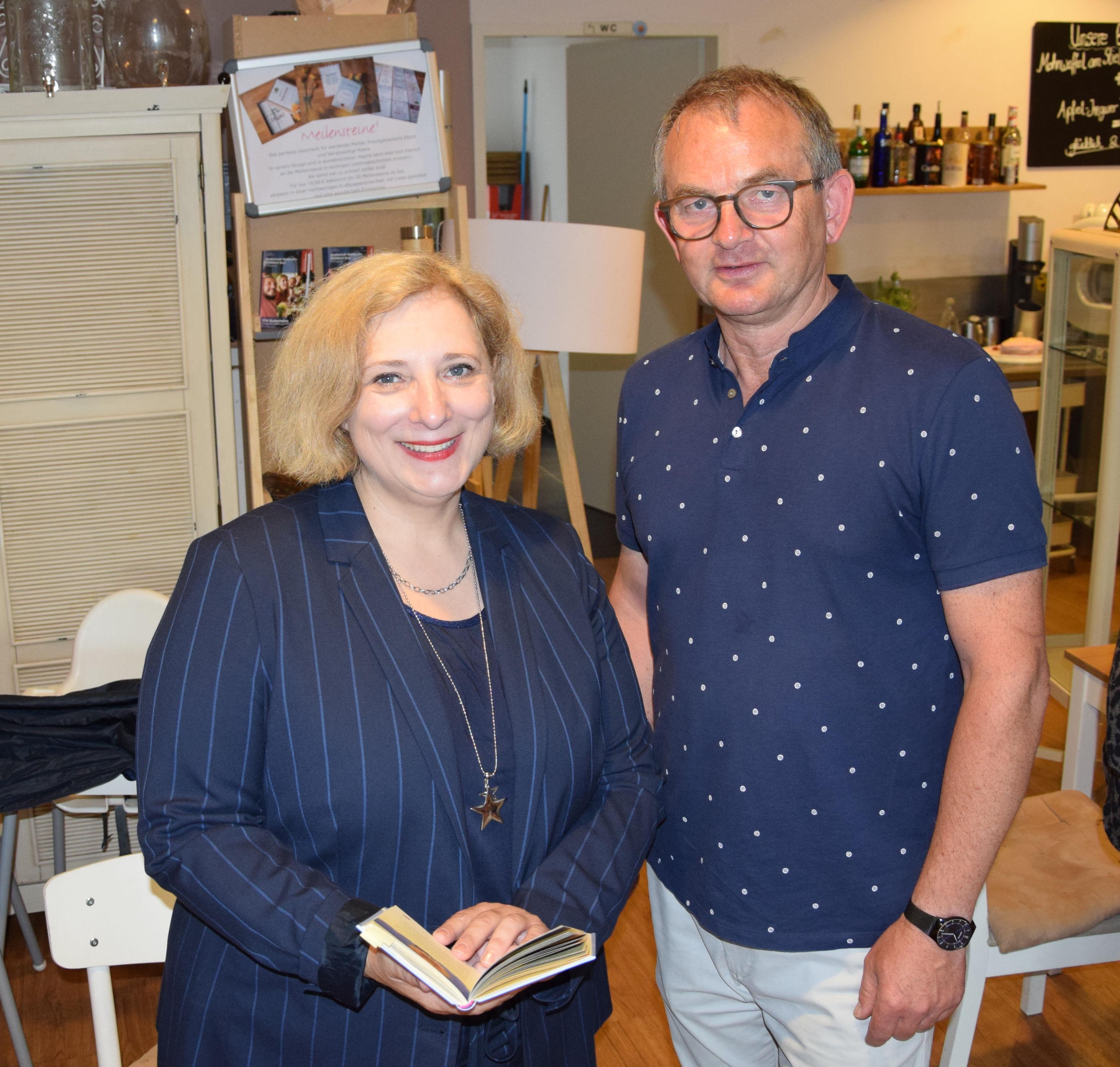 Dr. Daniela De Ridder und Gerd Wieners