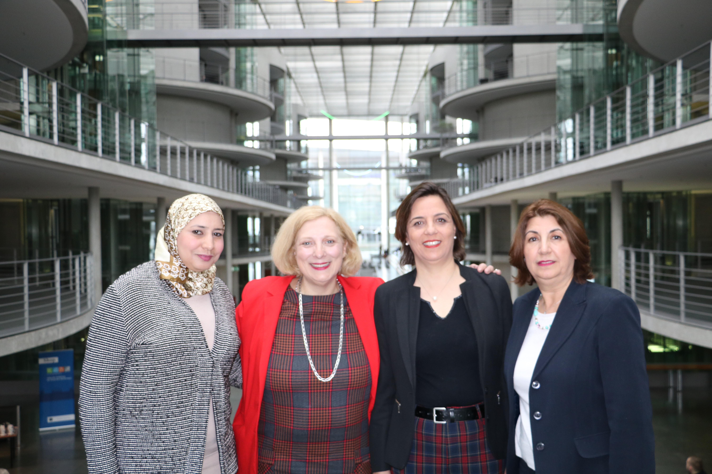 Dr. Daniela De Ridder mit Delegation aus Tunesien