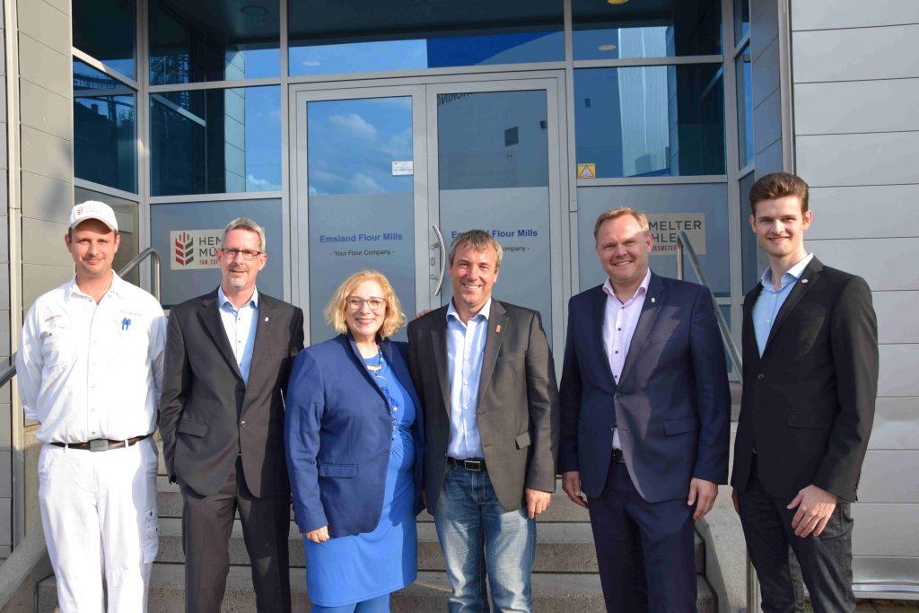 Thomas Augustin, Markus Hoffmann, Dr. Daniela De Ridder, Johann Saathoff, Jan Cordesmeyer, Gerrit Berning