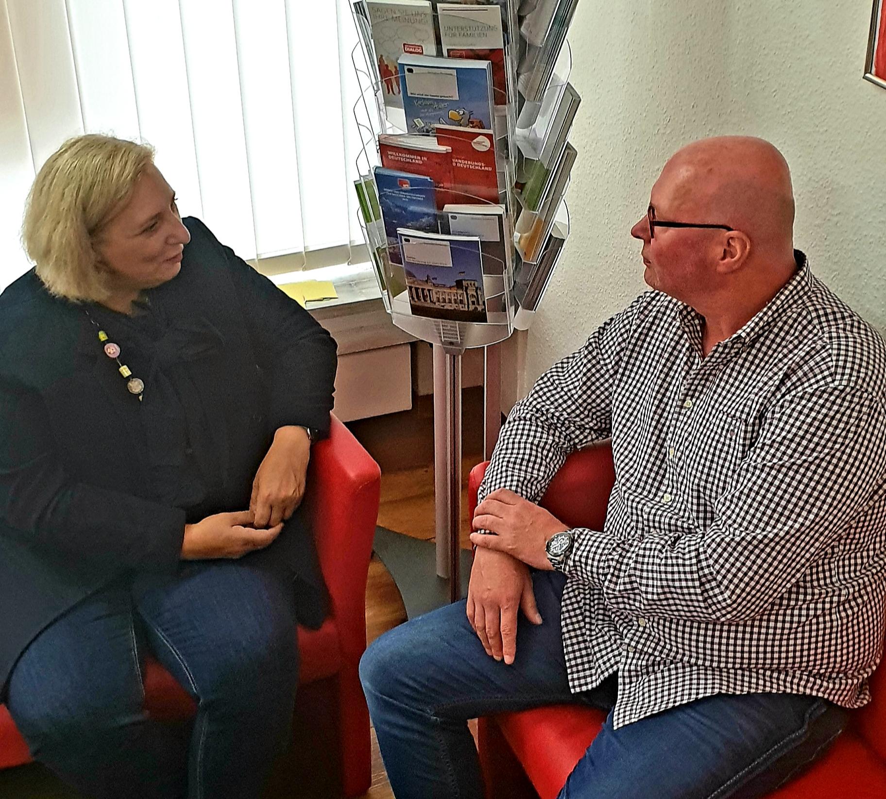 Dr. Daniela De Ridder im Gespräch mit Guido Sloot