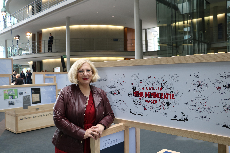 Dr. Daniela De Ridder zum 50. Jubiläum der Vereidigung Willy Brandts
