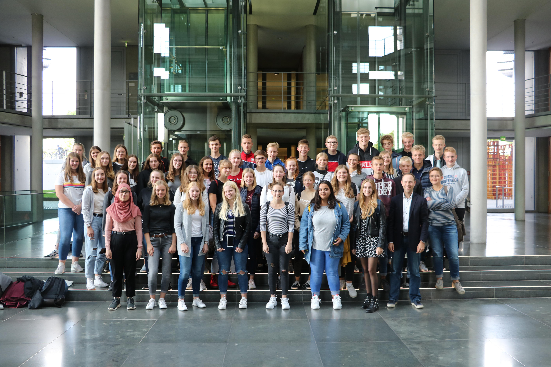 Zwei weitere Klassen des Lise-Meitner-Gymnasiums