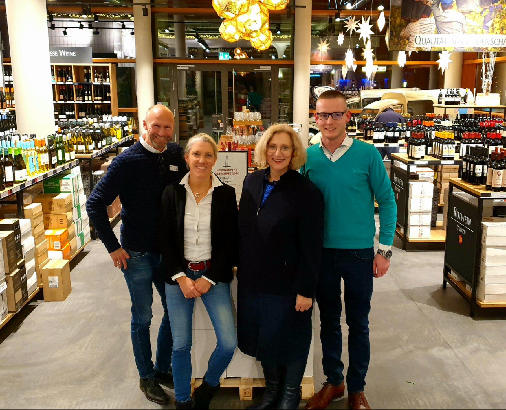 Hendrick und Isa Willenbrock, Dr. Daniela De Ridder und Julius Frilling