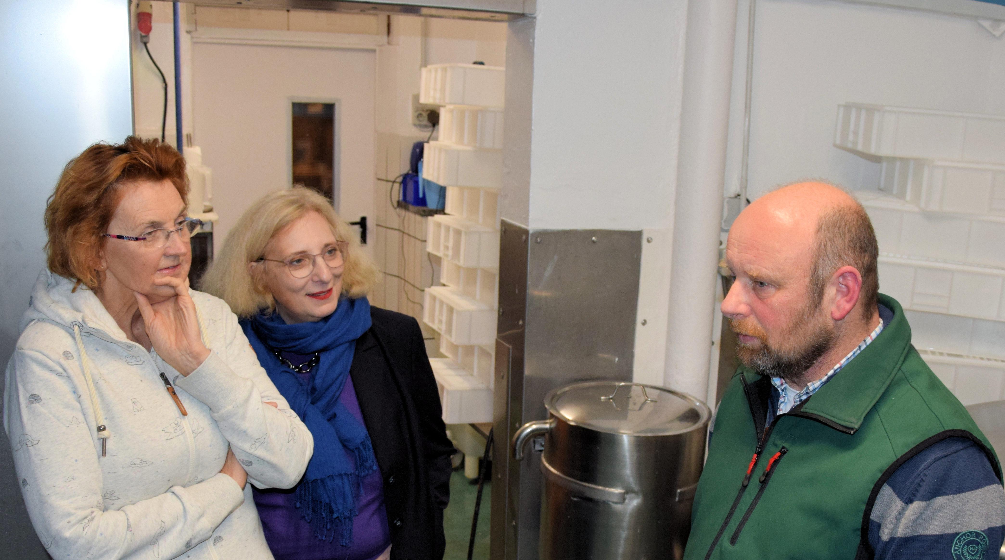 V.l.n.r.: Susanne Mittag, Dr. Daniela De Ridder und Dirk Dennemann