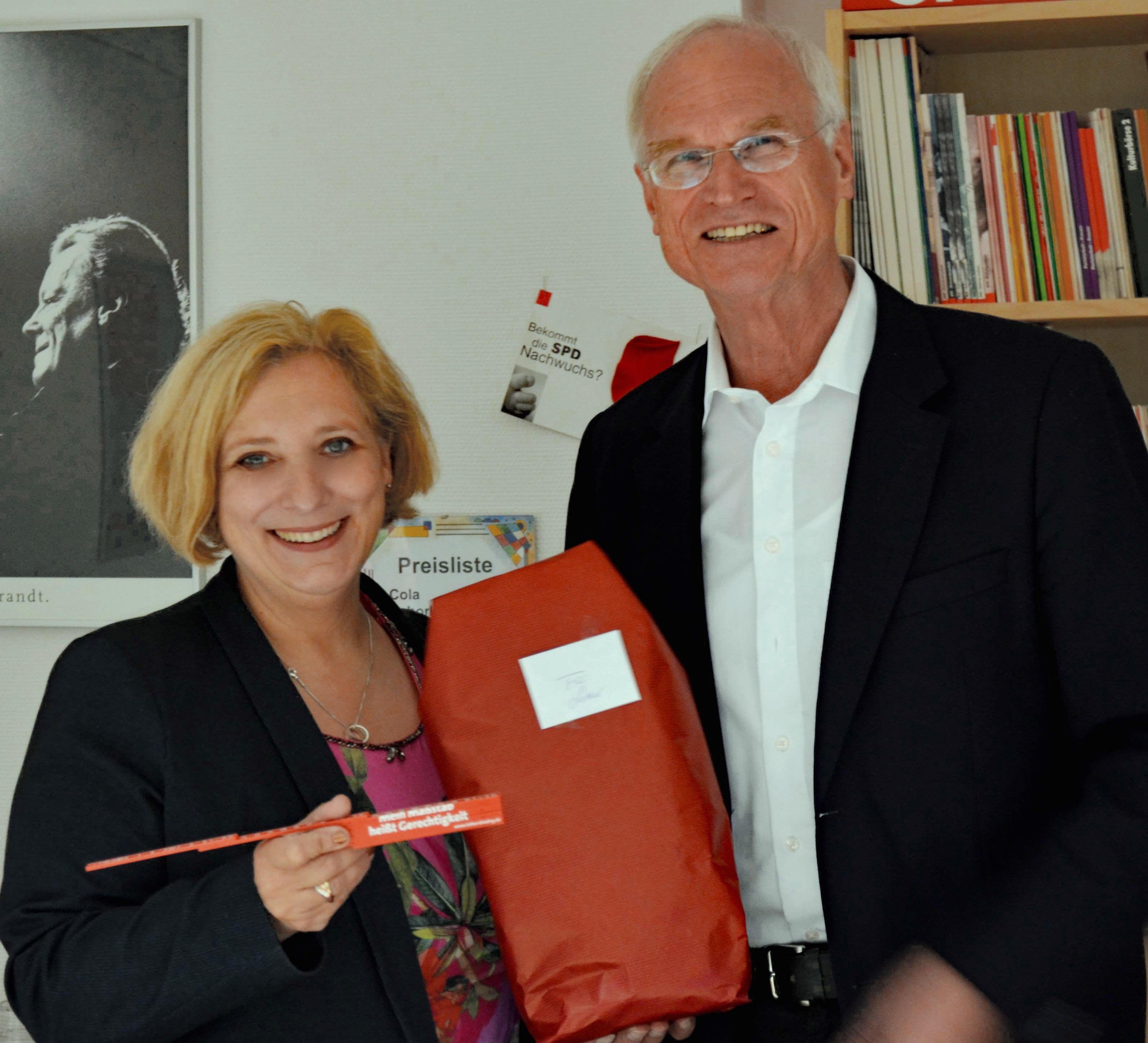 Dr. Daniela De Ridder und Lothar Binding