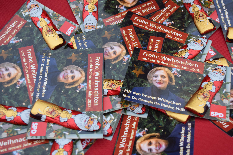 Weihnachtskarten von Dr. Daniela De Ridder