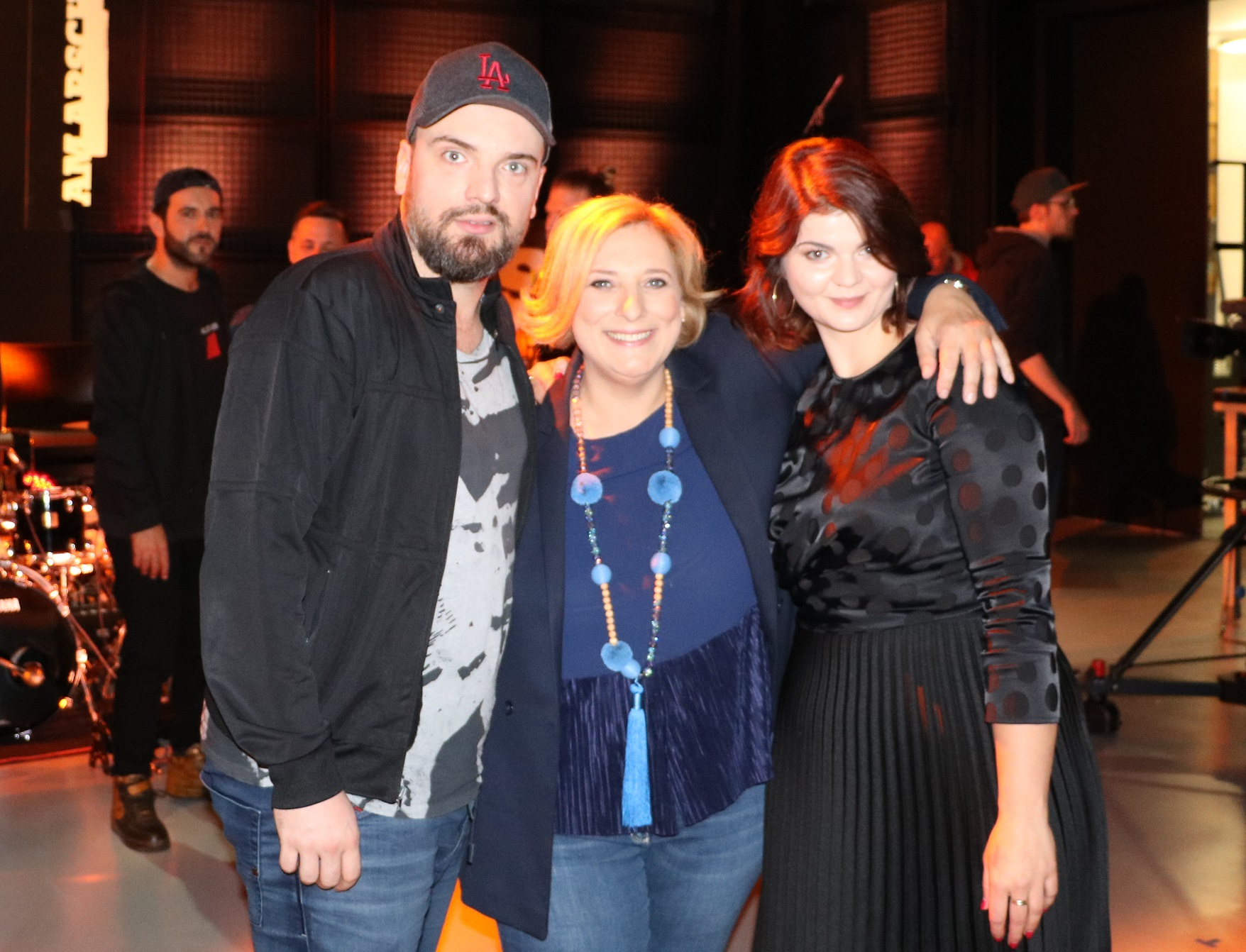 Ingmar Stadelmann, Dr. Daniela De Ridder und Sophie Passmann