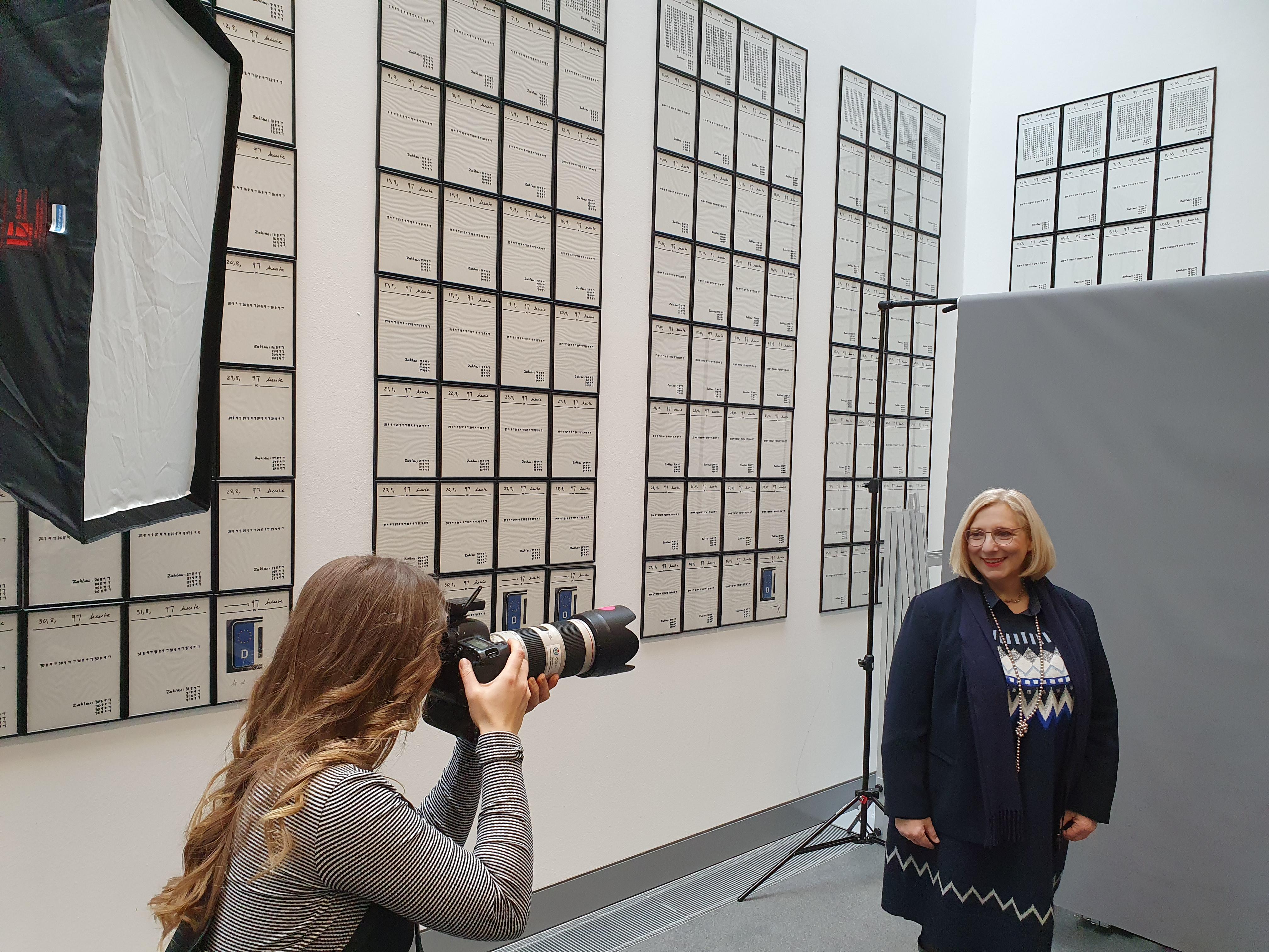 Dr. Daniela De Ridder beim Wikipedia-Photoshooting II