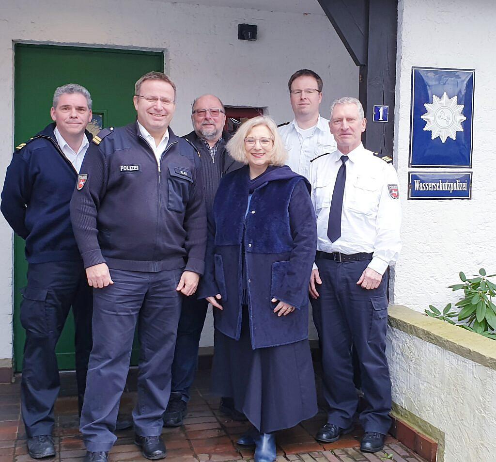 V.l.n.r.: Carsten Bruns, Frank Klaß, Johannes Hessel, Dr. Daniela De Ridder, Florian Braun, Bernhard Schroer