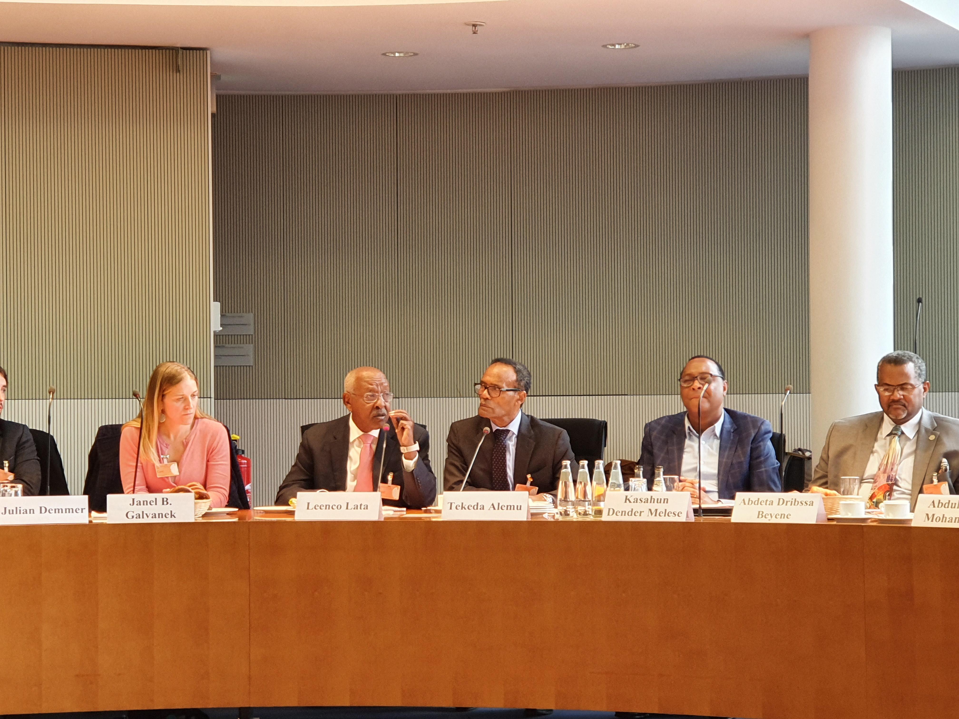 Delegation aus Äthiopien