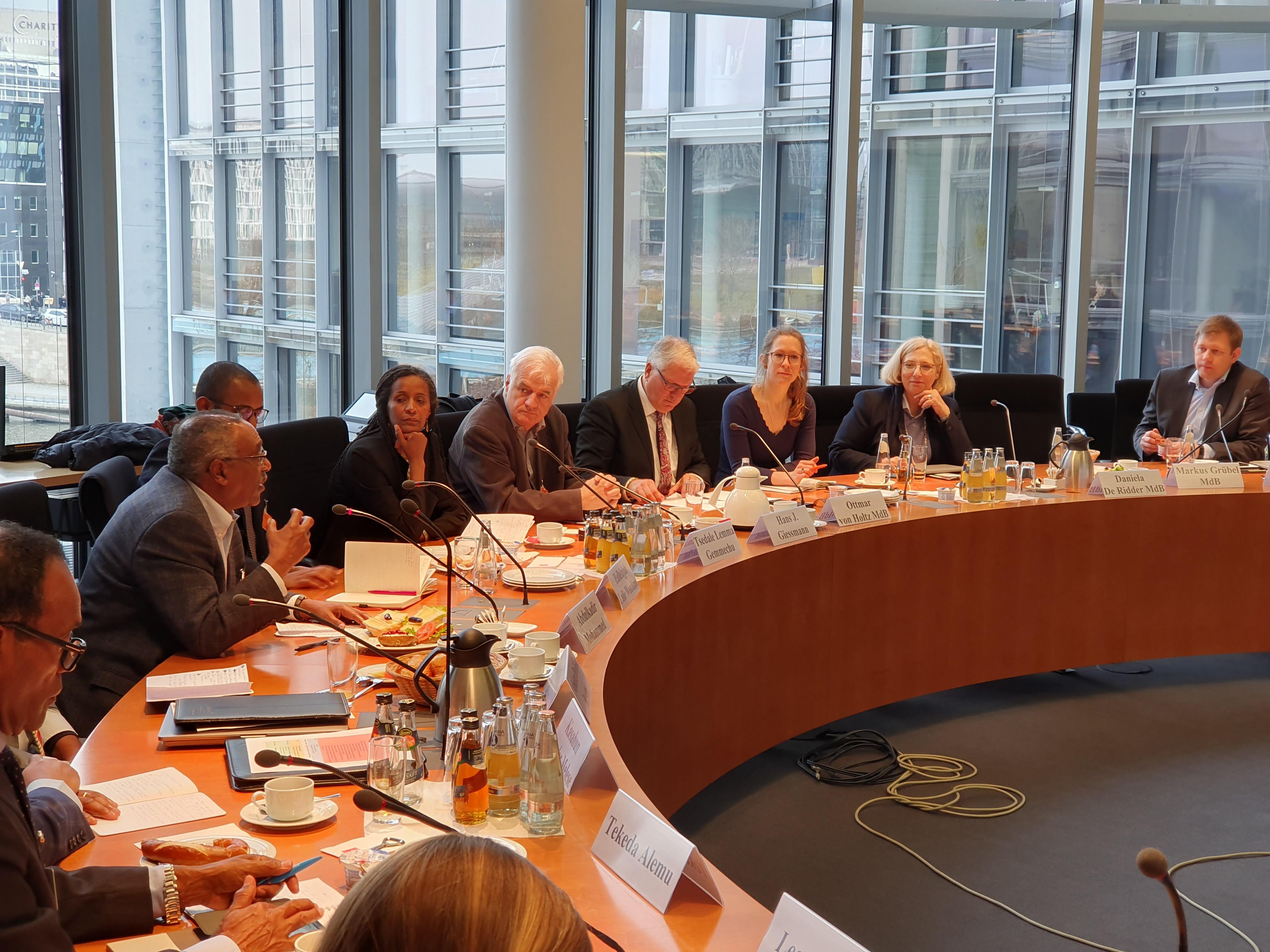 Dr. Daniela De Ridder und Delegation aus Äthiopien