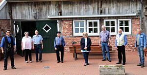 Florian Paul, Gesine & Derk Lübbermann, Jan-Harm Legtenborg, Dr. Daniela De Ridder, Lukas Elbert, Lambertus Wanink, Heinrich Veurink (nicht im Bild Jan Hemmeke)