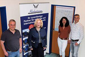 Martin Kleinbuntemeyer, Dr. Daniela De Ridder, Petra und Dieter Kleinbuntemeyer