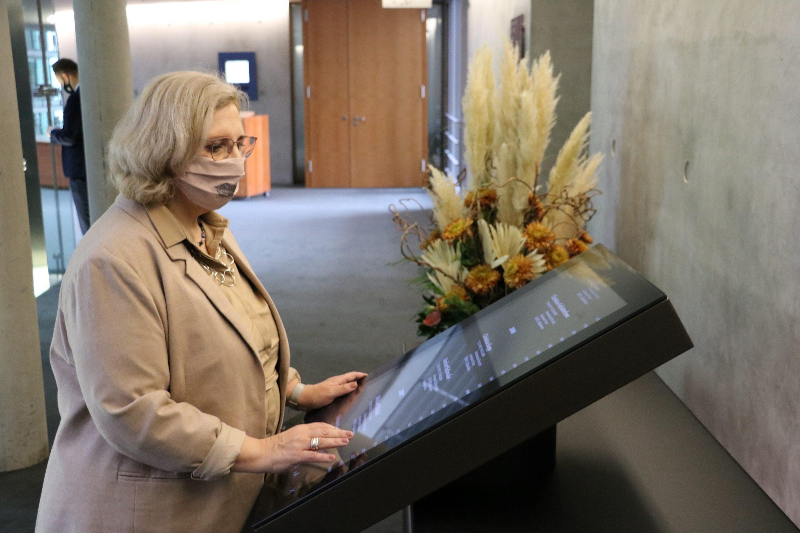 Dr. Daniela De Ridder zur Einweihung des Gedenkbuches der Bundeswehr